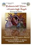 il canto degli angeli 2012
