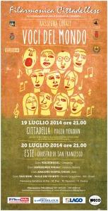 Concerto Cittadella-Este gemellaggio coro brasiliano
